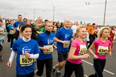 Marathonseitentriebe Lizenzfreie Stockfotos