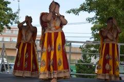 Marati Dancers at Chinatown Summer Fair royalty free stock photos