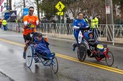 Maratón 2015 de Boston Imágenes de archivo libres de regalías