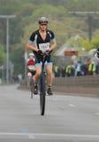 Maratón de Duesseldorf Fotos de archivo libres de regalías