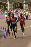 Maratón olímpico 2012 Imágenes de archivo libres de regalías