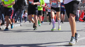 Maratońska prędkość Zdjęcia Royalty Free