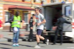 Maratońska prędkość Zdjęcia Stock