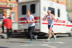 Maratońska prędkość Obraz Royalty Free