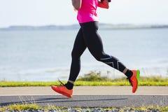 Maratoński biegacz Obraz Stock