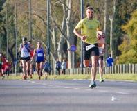 Maratoński biegacz zdjęcia royalty free