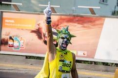 Maratoński Lima 42k obraz stock