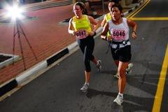 Maratońscy biegacze Zdjęcie Royalty Free