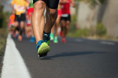 Maratońska bieg rasa Obraz Royalty Free
