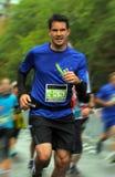 Maratoński biegacz obraz royalty free