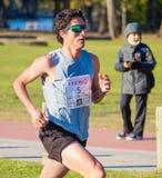 Maratoński biegacz Fotografia Stock