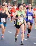Maratoński biegacz Zdjęcie Royalty Free