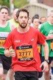 Maratońskiego biegacza Alex rycerz Zdjęcie Stock