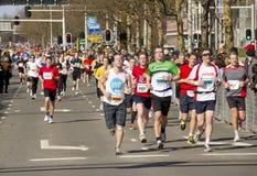 maratonów biegacze Obrazy Stock