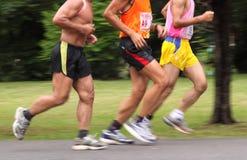 maratonów maraton 10 godzina Zdjęcia Royalty Free