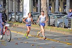 maraton 2011 turin Fotografering för Bildbyråer