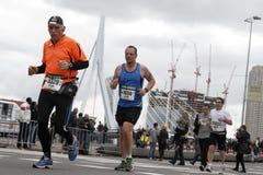 maraton 2012 rotterdam Arkivfoto