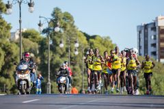 Maraton Zdjęcie Stock