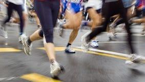 maraton Fotografering för Bildbyråer