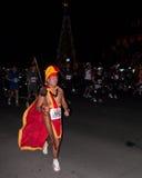 maraton för 19863 honolulu Arkivbild