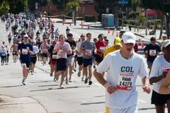 maraton för 4 angeles los Royaltyfri Bild