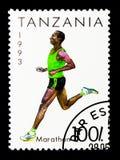 Maraton, sporta seria około 1993, Zdjęcia Royalty Free