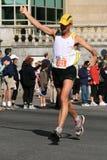 maraton uciekiniera kciuki w górę Obraz Royalty Free