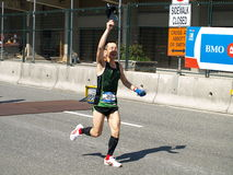 maraton vancouver royaltyfri fotografi