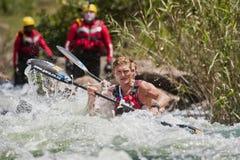 A maratona África do Sul da canoa de Dusi imagem de stock royalty free