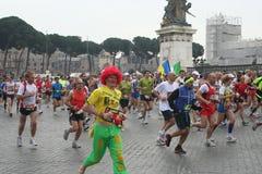 Maratona Immagini Stock Libere da Diritti