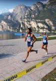 Maratona 2008 de Garda do lago fotos de stock