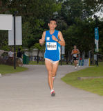 Maratona 2008 de Singapore Fotos de Stock Royalty Free