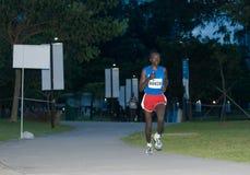 Maratona 2008 de Singapore Imagens de Stock Royalty Free