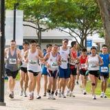 Maratona 2008 de Singapore para as massas Imagens de Stock Royalty Free
