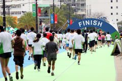 Maratona 2009 de Hong Kong Fotografia de Stock