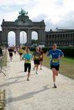 Maratona 2009 di Bruxelles Fotografia Stock