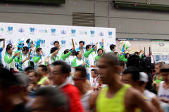 Maratona 2010 de Hong Kong Fotografia de Stock