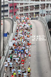 Maratona 2010 de Hong Kong Fotografia de Stock Royalty Free