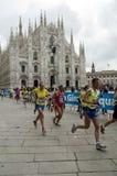 Maratona 2010 della città di Milano fotografia stock libera da diritti