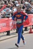 Maratona 2011 di Londra del Virgin Immagini Stock
