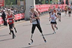 Maratona 2011 di Londra del Virgin Fotografia Stock Libera da Diritti