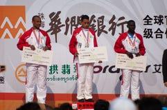 Maratona 2011 internacional de Zhuhai a meia Imagem de Stock