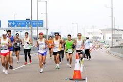 Maratona 2012 de Hong Kong Fotografia de Stock