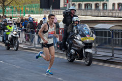 Maratona 2012 de Londres do Virgin - Merrien Foto de Stock
