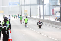 Maratona 2012 di Hong Kong Immagini Stock