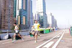 Maratona 2012 di Hong Kong Fotografie Stock Libere da Diritti