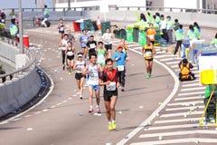 Maratona 2012 di Hong Kong Immagine Stock
