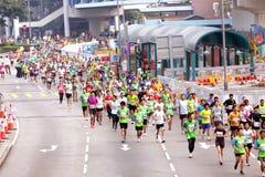 Maratona 2012 di Hong Kong Fotografia Stock