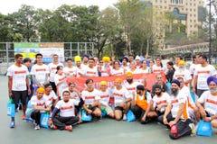 Maratona 2013 di Hong Kong Fotografia Stock