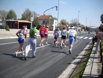 Maratona 3 di Belgrado Fotografia Stock